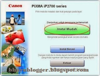 Cara Menginstal Printer Canon Pixma iP2770