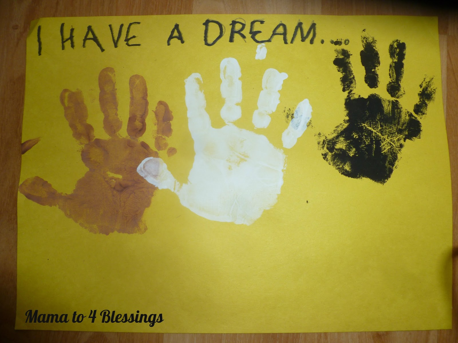 Martin Luther King Jr Lapbook Craft Mama To 6 Blessings