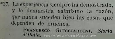 frases de Francesco Guicciardini