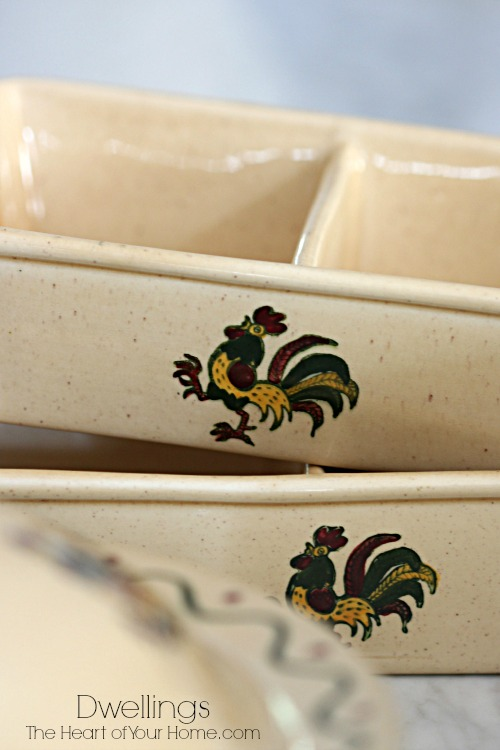 my auction win of dishes