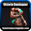 Victoria Dominguez Female Bodybuilder Thumbnail Image 1