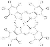 Cu phtalocyanine green