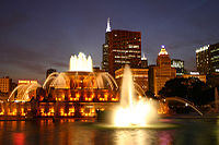 Chicago Buckingham Fountain Preservation Landmark