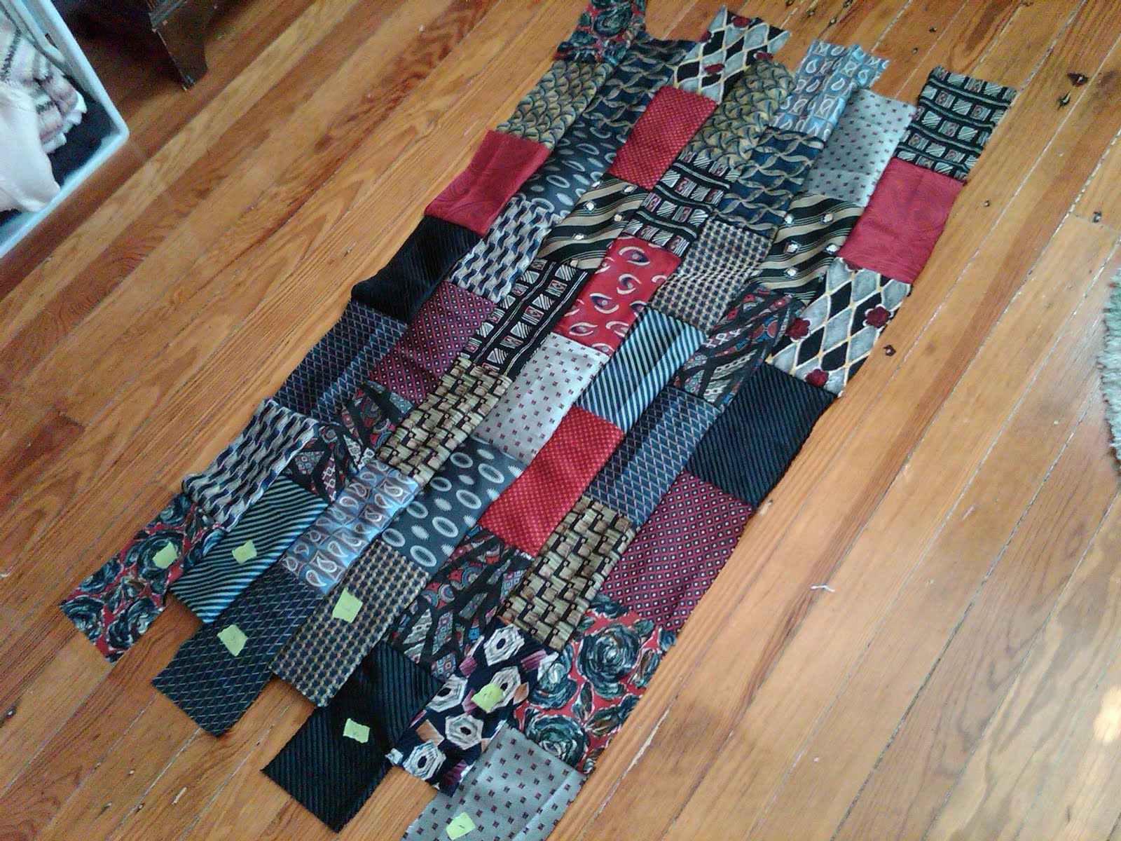 Necktie Quilting Patterns : ...quilts by kate...necktie : Gordon s Necktie Quilt