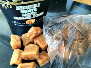 Ultimate English Awesomely Smooth Salted Caramel Fudge
