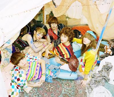 SHINee Sherlock hippies members names