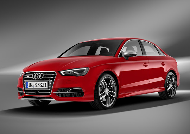 2015 Audi S3 Sedan: Small Car. Big Speed.