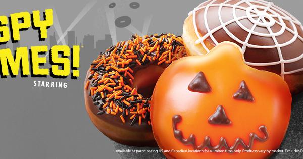 Halloween Donuts Krispy Kreme