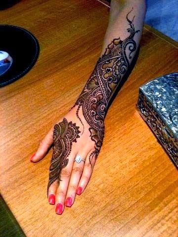 Celebrity Mehndi Designs