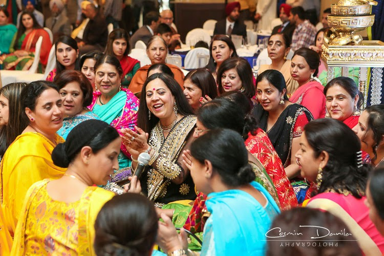Mehndi Ceremony Punjabi : Zenia paul punjabi wedding rituals lots of them