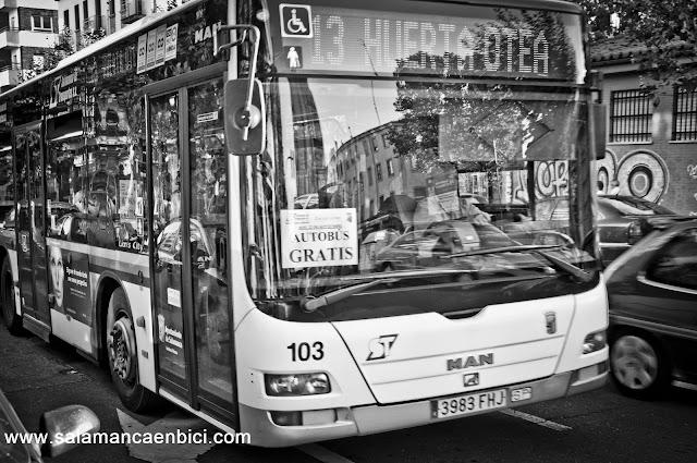 bus urbano salamanca