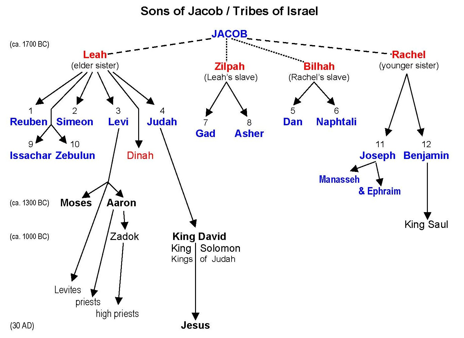 bible timeline | Old Testament Timeline | Not Your Mama's ...