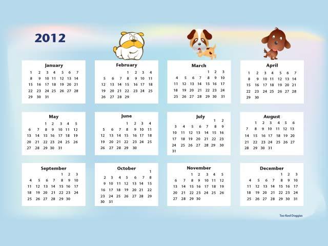 Как повторяется календарь и