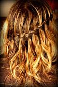 Summer Hair Series: the Waterfall Braid