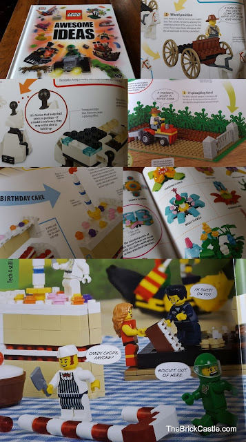 LEGO Awesome Ideas 2015 book inside pages