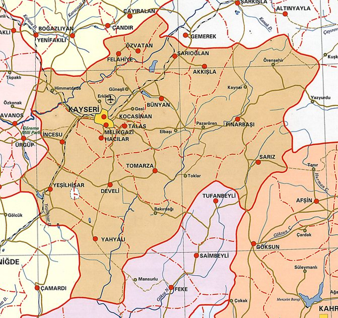 Kayseri Siyasi Haritas�