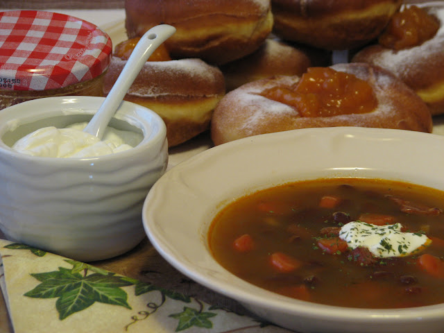 Beyond White Lake: Bean Soup and Carnival Donuts