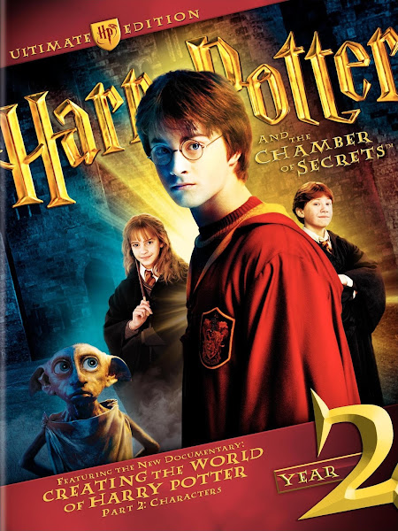 Poster Of Harry Potter and the Chamber of Secrets 2002 720p BRRip Dual Audio