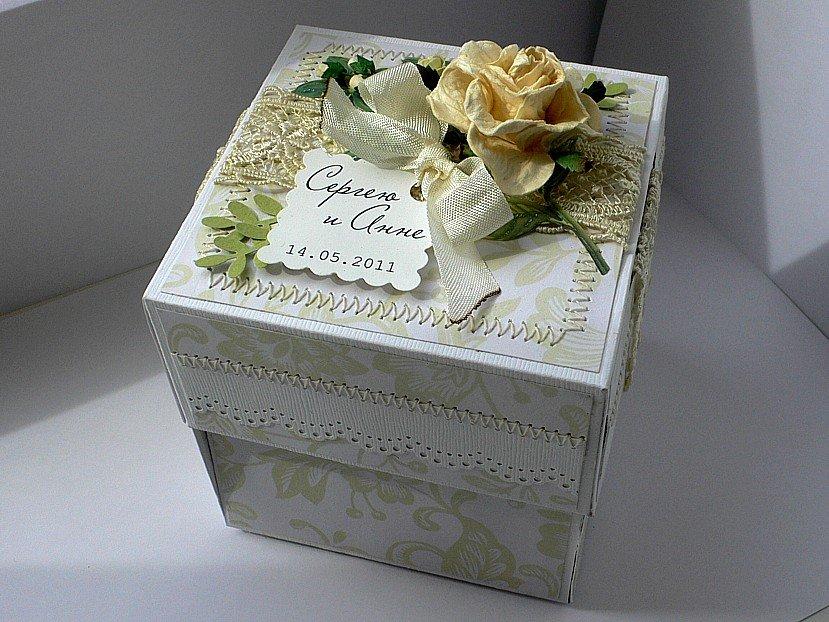 Денежная коробка на свадьбу своими руками 81