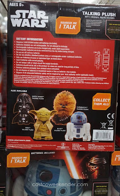 Disney Star Wars Talking Plush – You squeeze, I talk