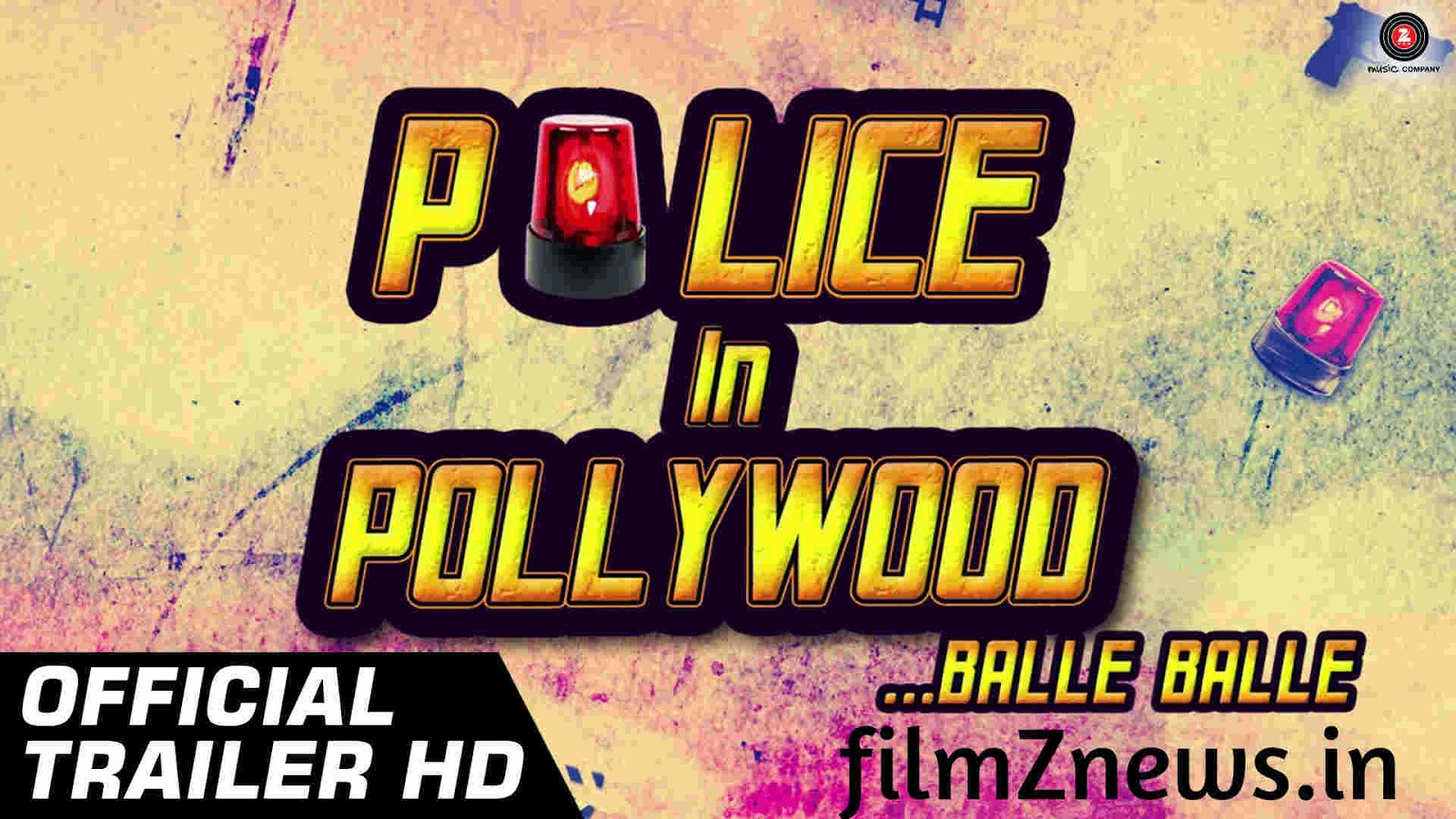 Police In Pollywood (2014) Official Trailer Video