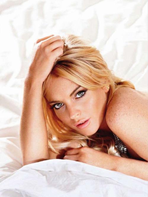 Lindsay Lohan, Maxime Magazine