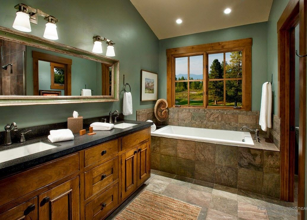 Bathrooms Top Designs For Bathroom In Country Style For Stylish House