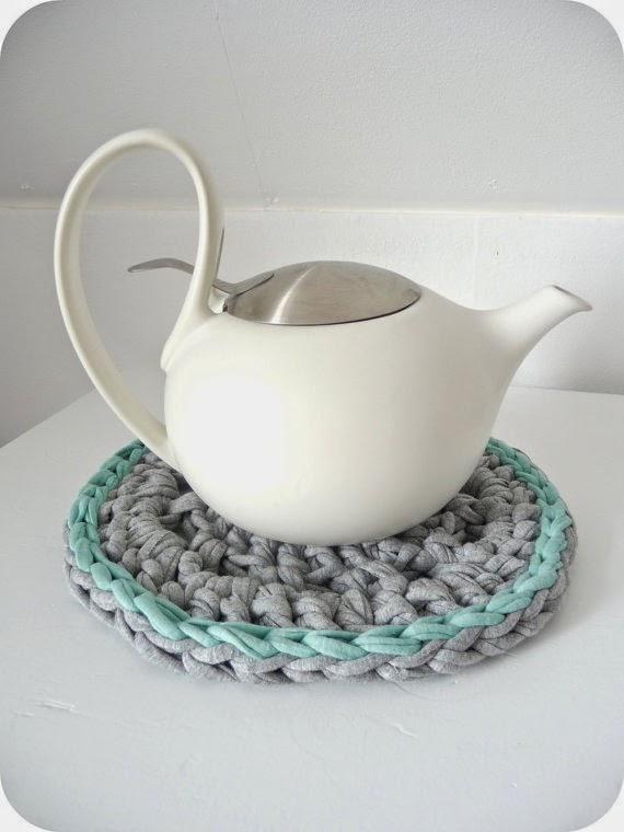 trapo para tetera en crochet