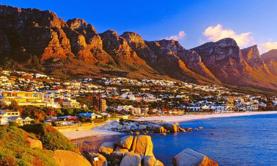 Top 25 destinations in the world: Cape Town Central, South Africa