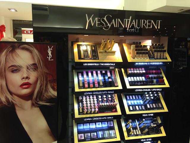 YSL Beauty At Jarrold and Sons, Norwich