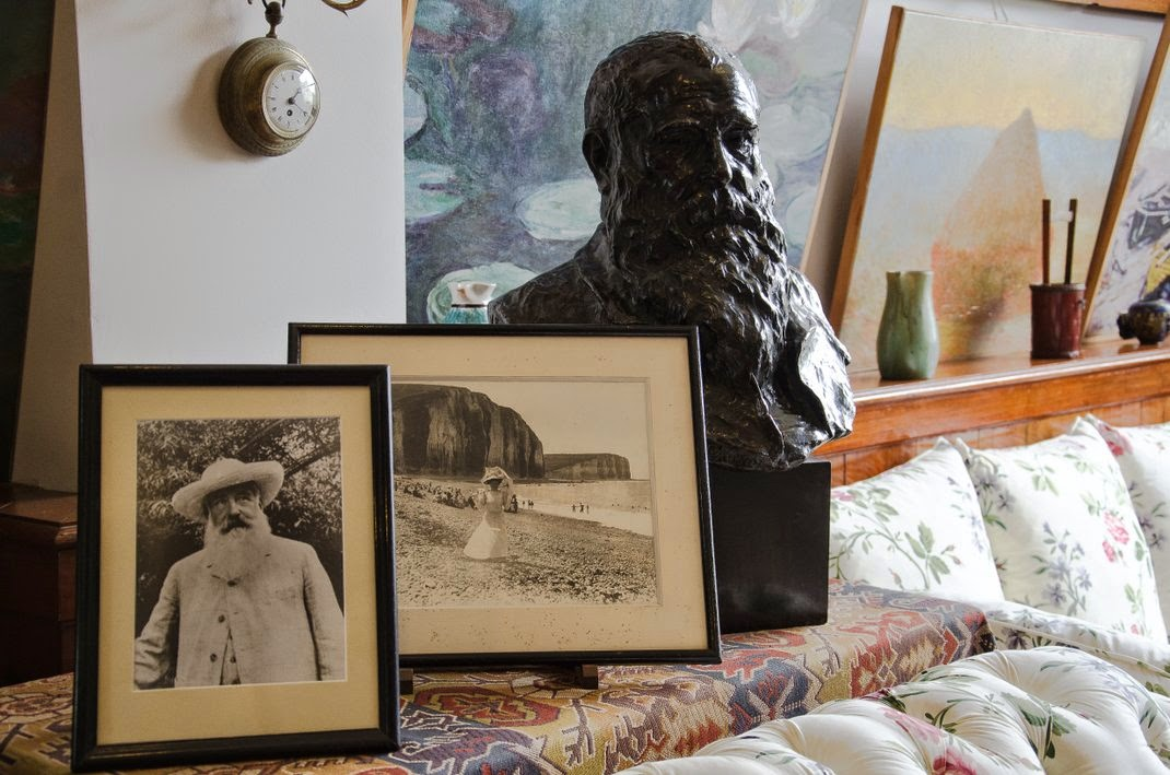 Giverny  - maison de Monet - atelier