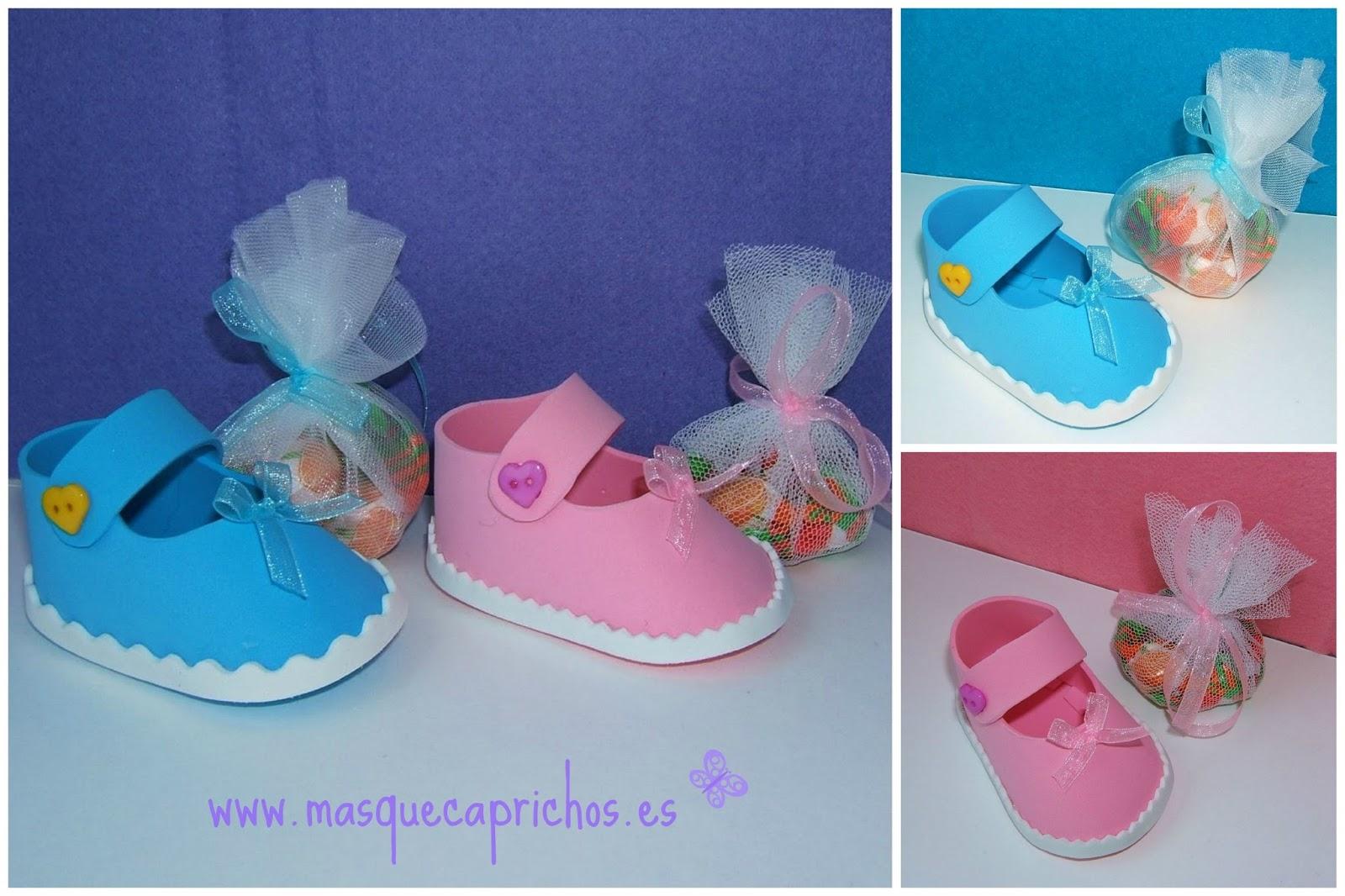 zapato para detalle de bautizo