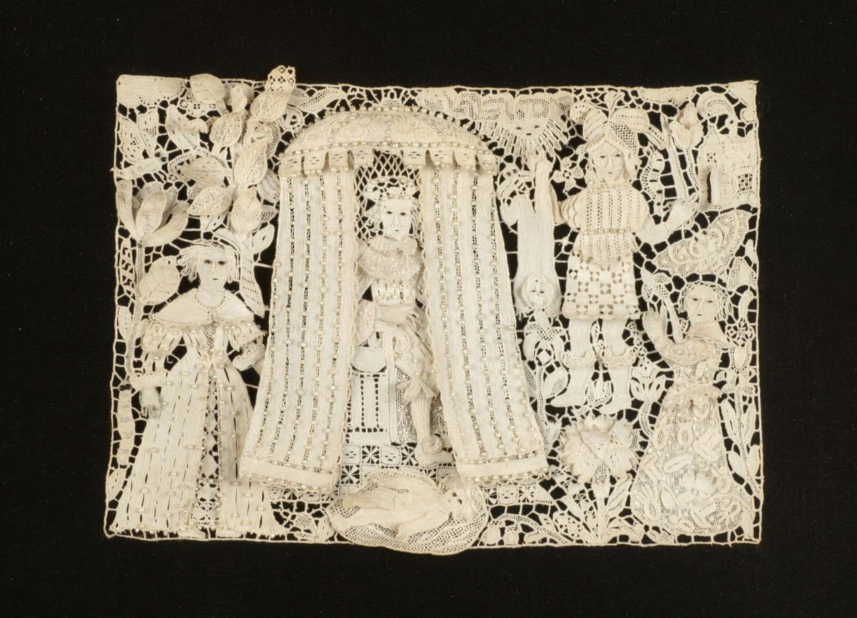 Whitework for Ashmolean exhibit
