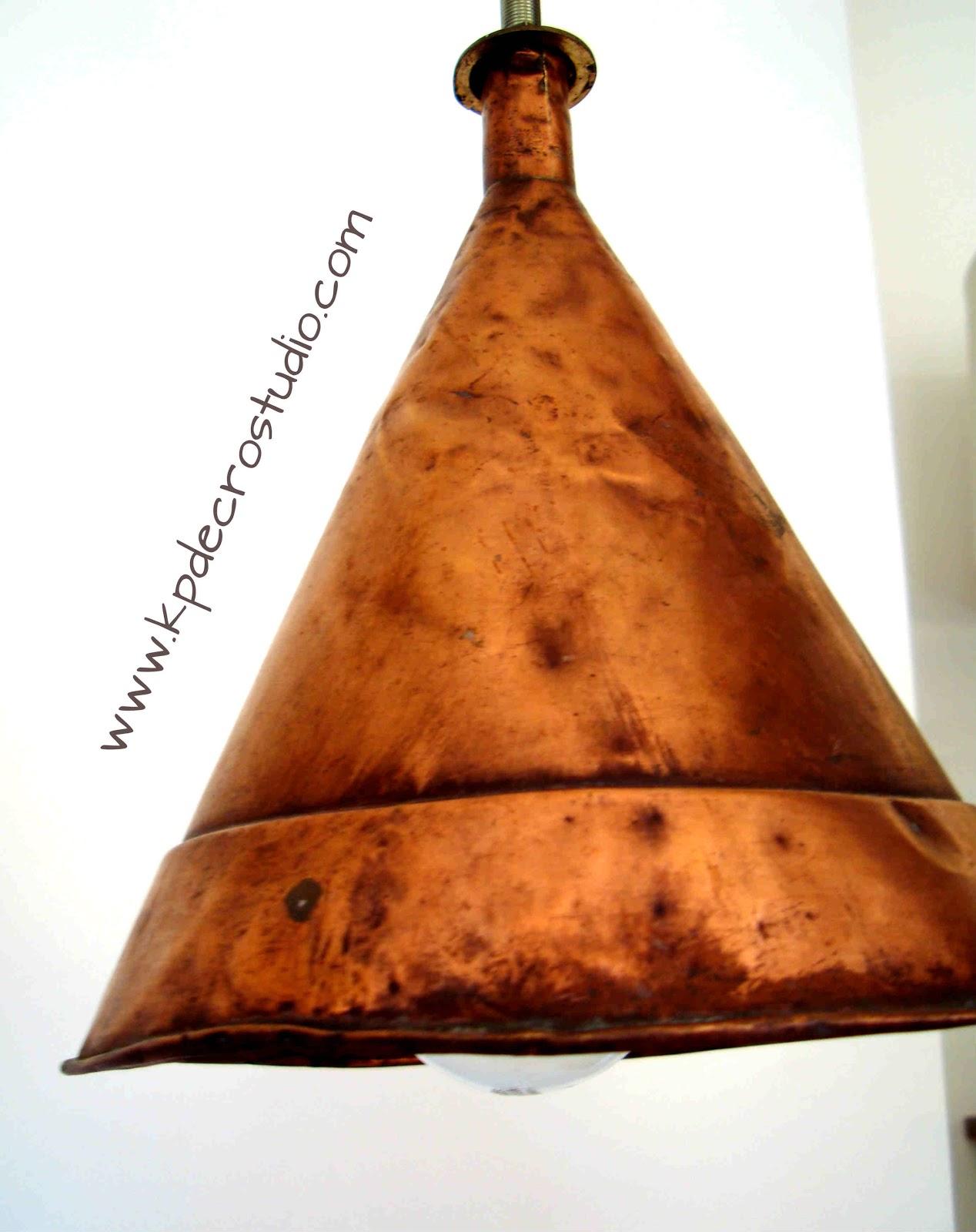 Kp tienda vintage online l mpara de fabricaci n artesanal for Lamparas segunda mano