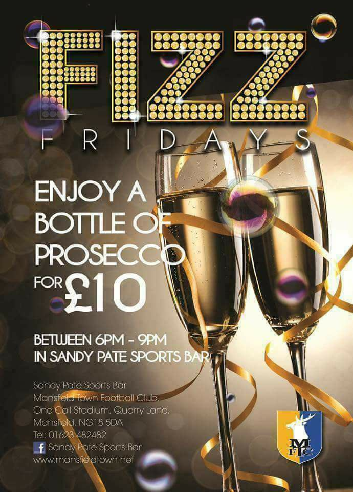 Fizz Friday Enjoy A Bottle Of Prosecco For Only £10