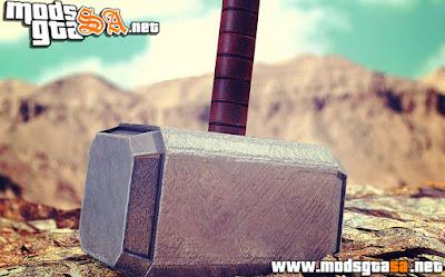 V - Mod Martelo de Thor para GTA V PC