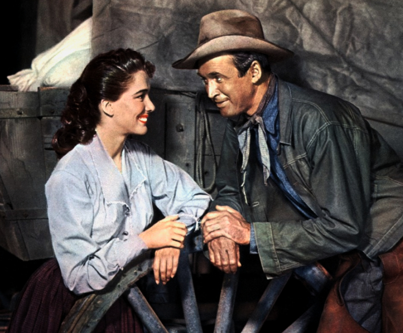 Bend of the river: above-average western with stewart and kennedy