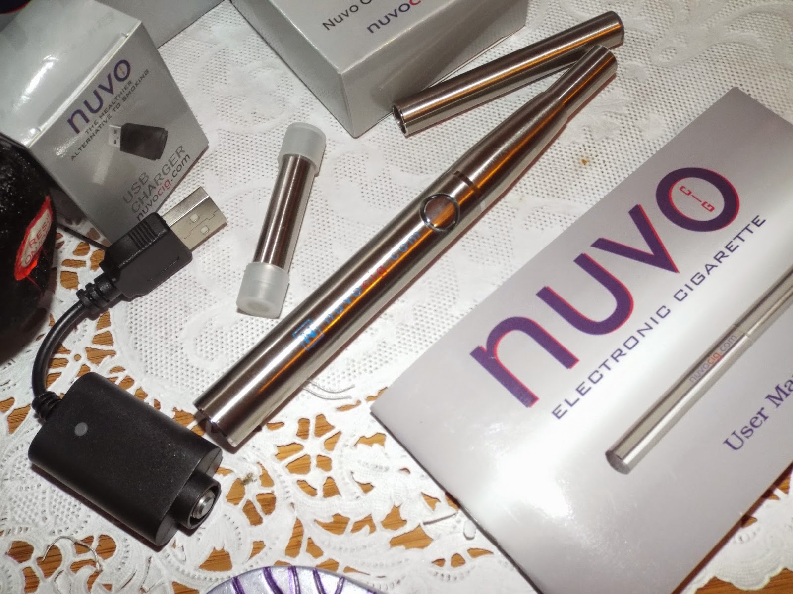 NuvoCig: Large Cigarette Battery