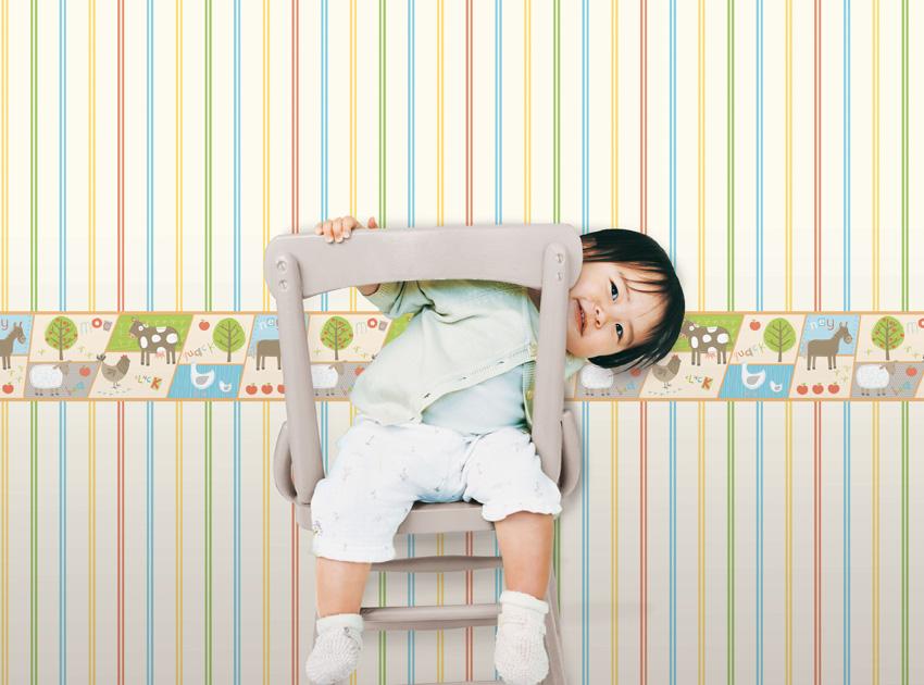 Papel pintado papel pintado infantil hoopla - Papel pintado infantil ...