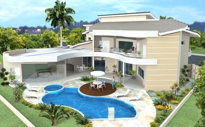 Casando e arquitetando casas for Casa moderna de 7 00m x 15 00m