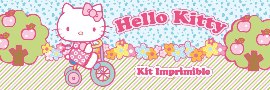 Fiesta Hermosa: Decoraciones y Candy bar Hello Kitty