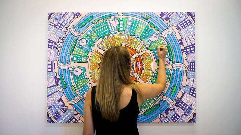 Color In Your Own Wall Art by Fancy Features