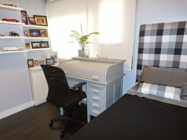 10 dormitorios juveniles en espacio peque o dormitorios - Escritorio para habitacion ...