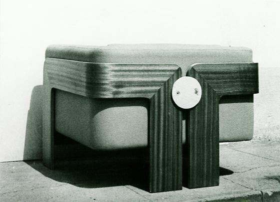 Sessel der tschechoslovakischen Botschaft in Genf, entworfen von Jan Šrámek, Zbyněk Hřivnáč and Oldřich Novotný, 1969; Foto: Zbyněk Hřivnáč Archiv