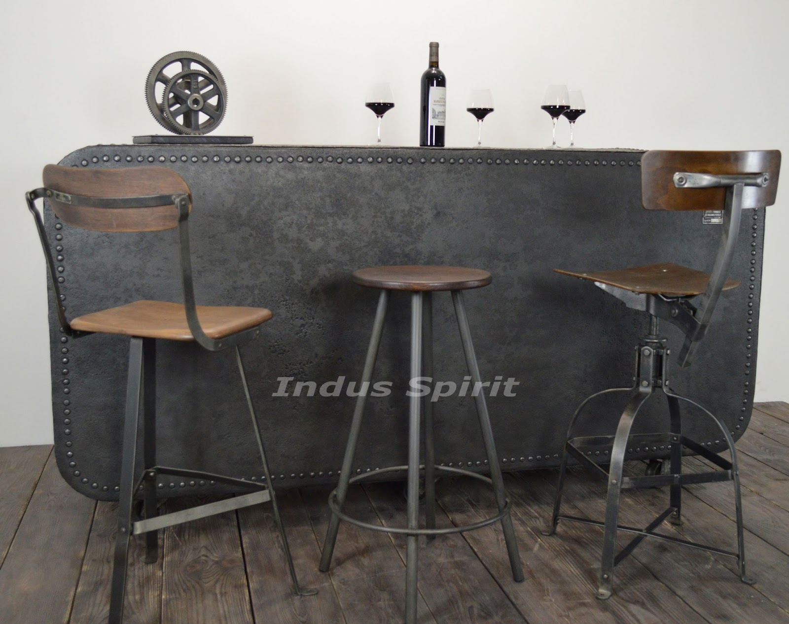 Bar design industriel - Bar style industriel ...