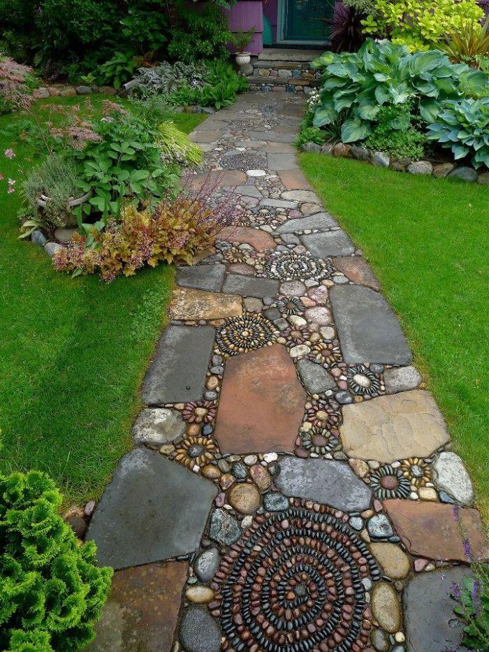 Bbb une id e pour l 39 all e de votre jardin - Idee d allee de jardin ...