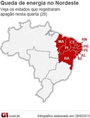 Apagão foi causado por queimada no Piauí