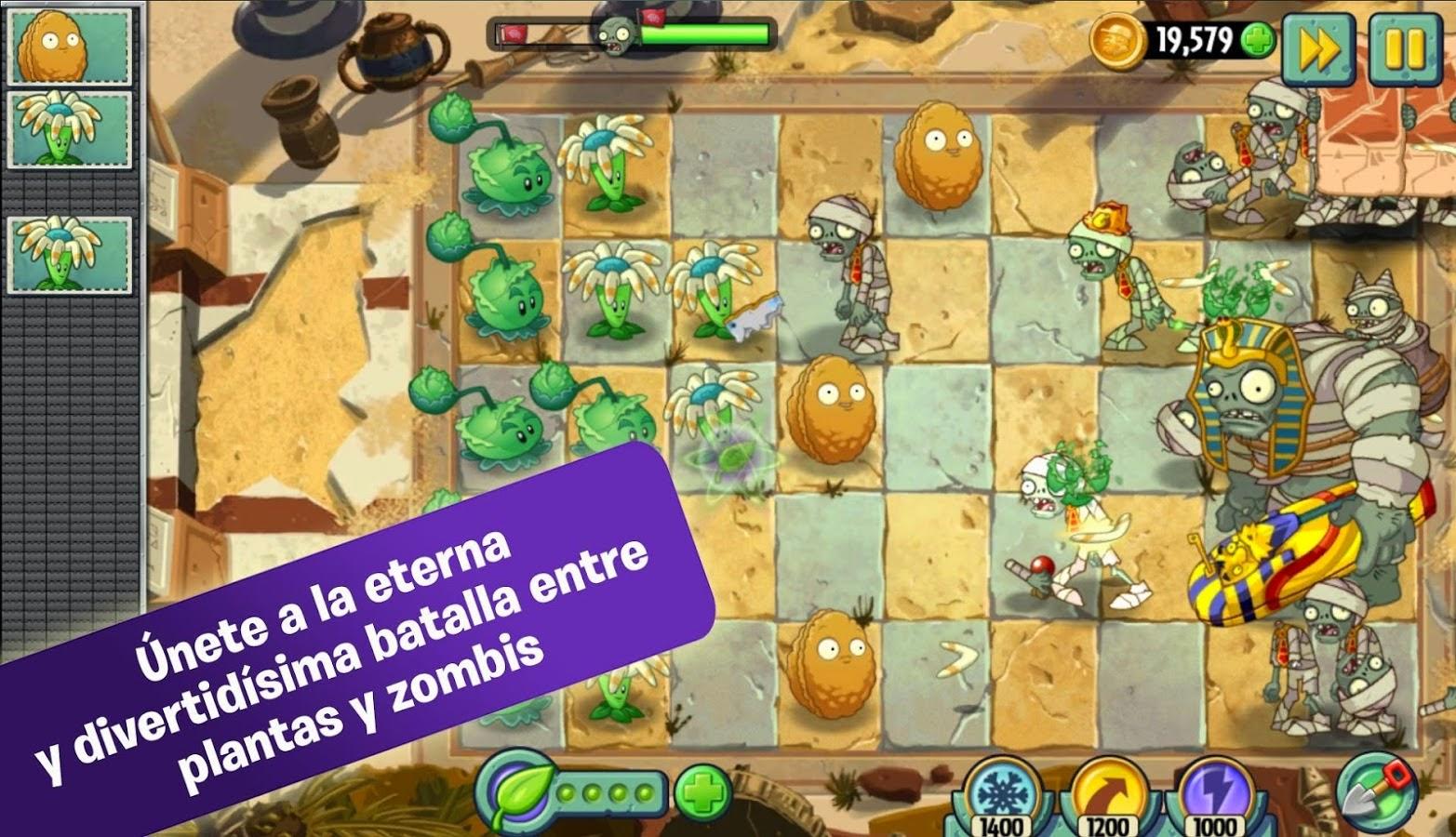 Juegos android apk for Jardin zen plantas vs zombies