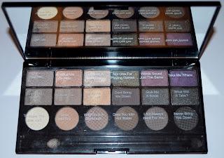 Makeup Revolution Hard Day Salvation Palette