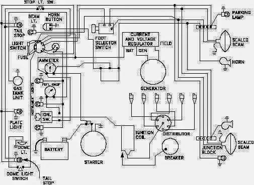 Wiring Of Cars Electrical Circuit on wiring satellite dish diagram